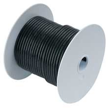 Ancor Black 25ft 1 awg wire