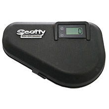 Scotty 2131 hp electric downrigger replacement lid w/lcd counter