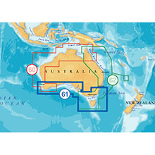 NAVIONICS Australia South Platinum Marine Charts on SD Card