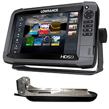 LOWRANCE HDS-9 Gen3 Insight w/TotalScan T/M Transducer
