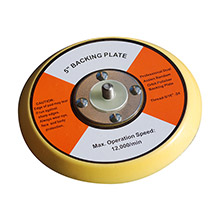 SHURHOLD Replacement 5 inch dual action polisher backing plate