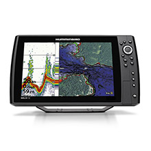 HUMMINBIRD Helix 12 chrip gps g2n combo