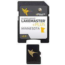 HUMMINBIRD Lakemaster minnesota plus - version 2.0 - microsd/sd