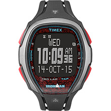 TIMEX Ironman sleek 150 unisex watch - gray/red