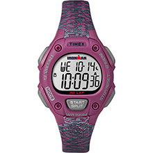 TIMEX Ironman classic 30 mid-size watch - pink/gray