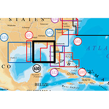 NAVIONICS East Gulf of Mexico Platinum Marine Charts on Compact Flash