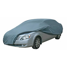 DALLAS MFG CO. Car Cover - Large - Model B Fits Car Length Up To 14ft3inch to 16ft8inch