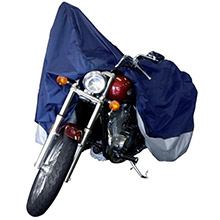 DALLAS MFG CO. Motorcycle Cover - XL - Model B Fits Retro Cruisers Touring Models up to 1500cc Full Dress