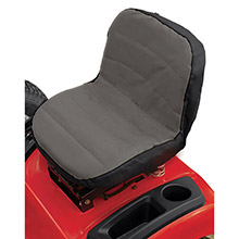 DALLAS MFG CO. MD Lawn Tractor Seat Cover - Fits Seats w/Back 15inch High