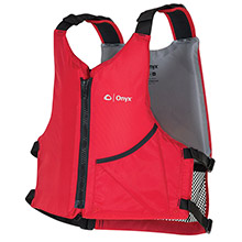 Onyx Outdoor Onyx Universal Paddle Vest - Adult Oversized - Red