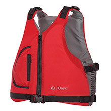 ONYX OUTDOOR Onyx Youth Universal Paddle Vest - Red
