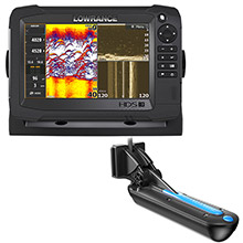 LOWRANCE HDS-7 Carbon MFD with StructureScan 3D Module and 3D Transom Mont Transducer