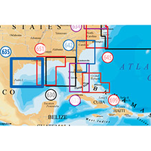 NAVIONICS West Gulf of Mexico Platinum Marine Charts on Compact Flash