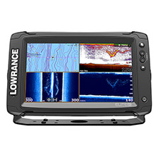 LOWRANCE Elite-9 Ti Touch C-Map Pro without Transducer