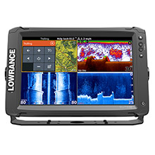 LOWRANCE Elite-12 Ti Touch C-Map Pro without Transducer