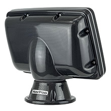 NAVPOD Pp5200-01 powerpod pre-cut f/humminbird helix 12 - carbon black