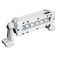 LUNASEA LIGHTING 6 led flood light - 30w - 3,600 lumens - 12-24vdc
