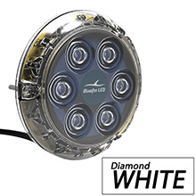 BLUEFIN Piranha p12 underwater light - surface mount - 12/24v - diamond white