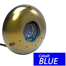 BluefinLED Viper v12 underwater light - surface mount - 12/24v - cobalt blue