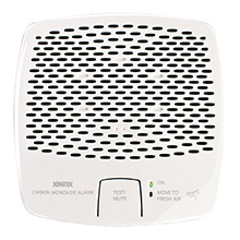 FIREBOY-XINTEX Carbon monoxide alarm - battery operated w/interconnect - white