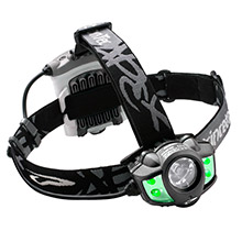 PRINCETON TEC Tec apex 350 lumen led headlamp w/green leds - black