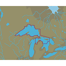 C-MAP Nt plus na-c108 lake superior, north channel, northern lake huron - c-card format