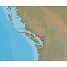 C-MAP Nt plus na-c711 point roberts to cape scott - c-card format