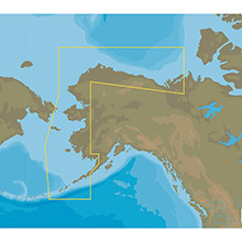 C-MAP Nt plus na-c813 bristol bay to demarcation bay - c-card format