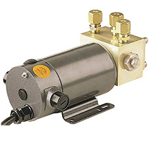 SIMRAD Rpu160 drive unit reversible pump - 12v dc, 9.8-22.5 cu in