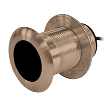 AIRMAR B117 bronze thru-hull transducer w/humminbird 9 plug - 7-pin