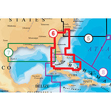 NAVIONICS US Southeast and N Bahamas Platinum Marine Charts on SD Card