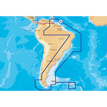NAVIONICS South America East Platinum Marine Charts on SD Card
