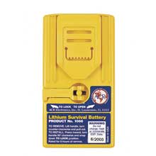 ACR ELECTRONICS Lithium Survival Battery f/2626,2727,2726A GMDSS Radios