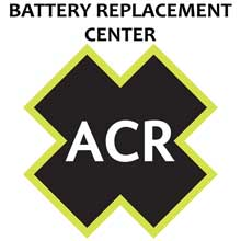ACR ELECTRONICS FBRS 2797NH,2798NH Battery Replacement Service PLB200/201 AquaFix/TerraFix