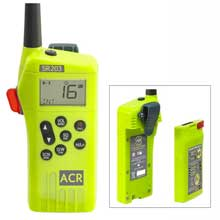 ACR ELECTRONICS SR203 GMDSS Survival Radio w and Replaceable Lithium Battery