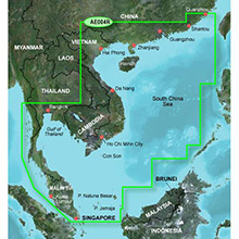 GARMIN Hong Kong/South China Sea, (HXAE004R), BlueChart g2 HD map on SD Card