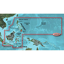 GARMIN Phillippines-Java-Mariana, (HXAE005R), BlueChart g2 HD map on SD Card