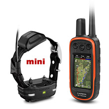 GARMIN Alpha 100 and Black TT 15 mini Dog Tracking and Training Bundle TT15