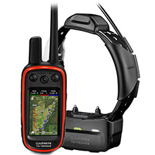 GARMIN Alpha 100 and Black TT 15 Dog Tracking and Training Bundle TT15