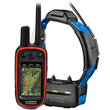 GARMIN Alpha 100 and Blue TT 15 Dog Tracking and Training Bundle