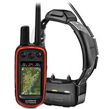 GARMIN Alpha 100 and Grey TT 15 Dog Tracking and Training Bundle TT15