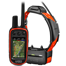 GARMIN Alpha 100 and Orange TT 15 Dog Tracking and Training Bundle TT15
