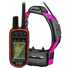 GARMIN Alpha 100 and Pink TT 15 Dog Tracking and Training Bundle TT15