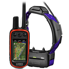 GARMIN Alpha 100 and Purple TT 15 Dog Tracking and Training Bundle