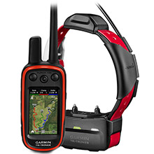 GARMIN Alpha 100 and Red TT 15 Dog Tracking and Training Bundle TT15