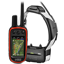 GARMIN Alpha 100 and White TT 15 Dog Tracking and Training Bundle