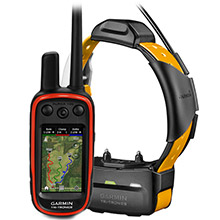 GARMIN Alpha 100 and Yellow School Bus TT 15 Dog Tracking and Training Bundle TT15