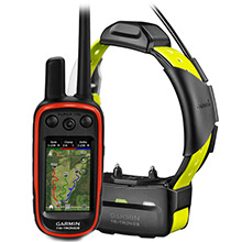 GARMIN Alpha 100 and Yellow TT 15 Dog Tracking and Training Bundle TT15