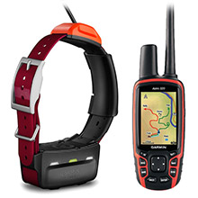 GARMIN Astro 320 T5 Burgundy T 5 Bundle