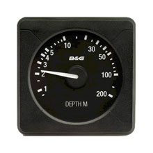 B&G H3000 Analog Depth Display, 200m